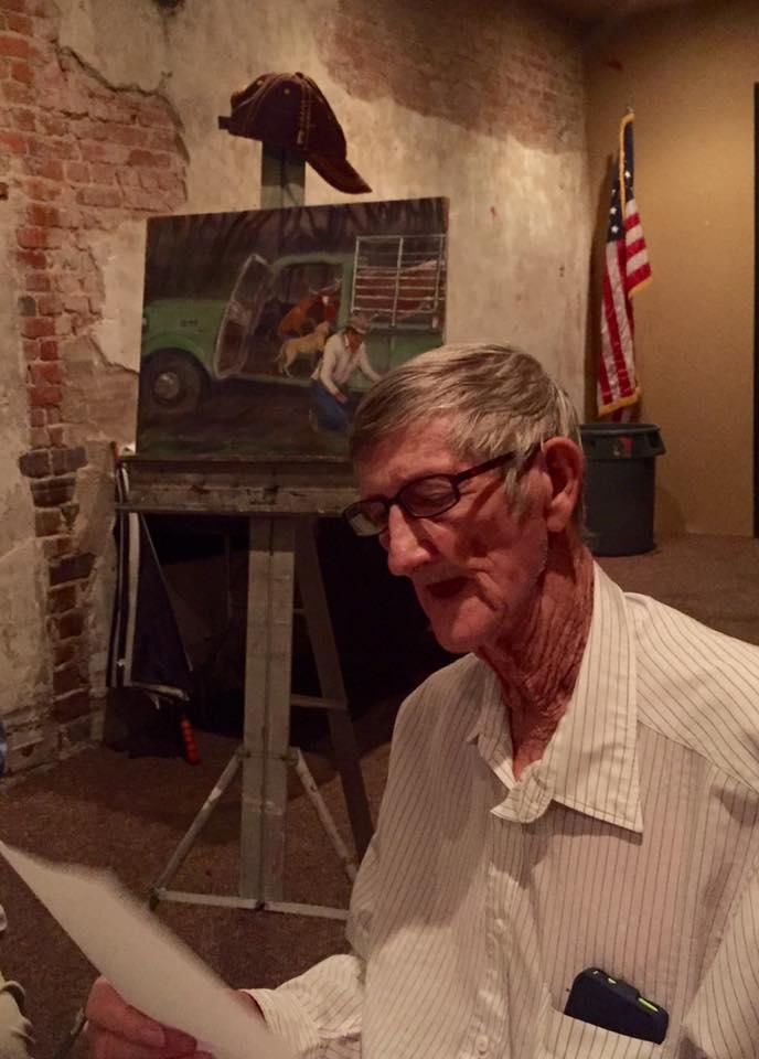 "Bill Roberts tells stories about being a Florida ""cowman"""