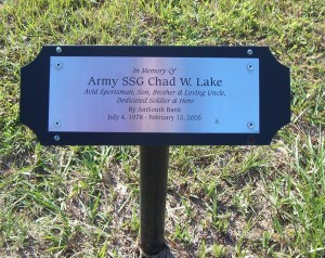 Sample Plaque